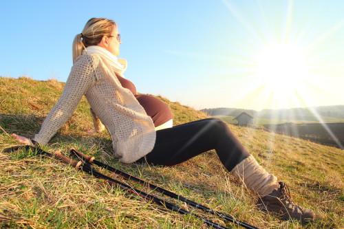 randonner enceinte réunion