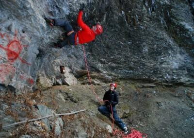 Nous - Dry-tooling en Savoie