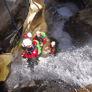 Canyoning reunion aventure