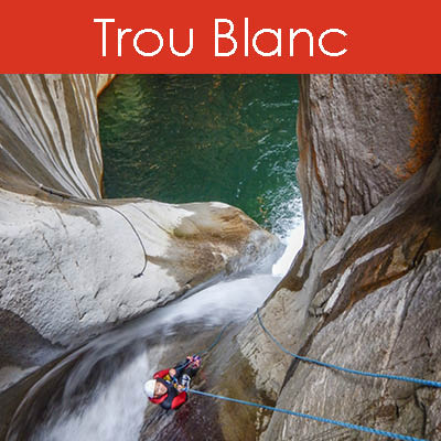 canyon Trou blanc